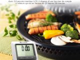 Thermomètre de cuisine avec écran